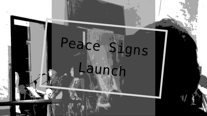 Peace Signs Launch graphic Teresa Neal